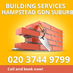 building service Hampstead Gdn Suburb NW11