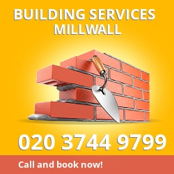 building service Millwall E14