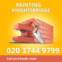 SW7 cheap painters Knightsbridge
